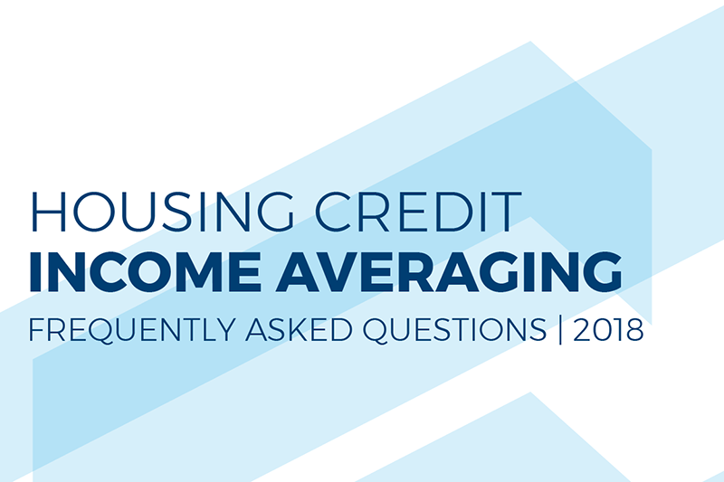 Housing Credit Average Income Test Frequently Asked Questions