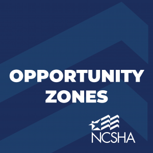 NCSHA Submits Comments to IRS on Proposed Opportunity Zone Regulations